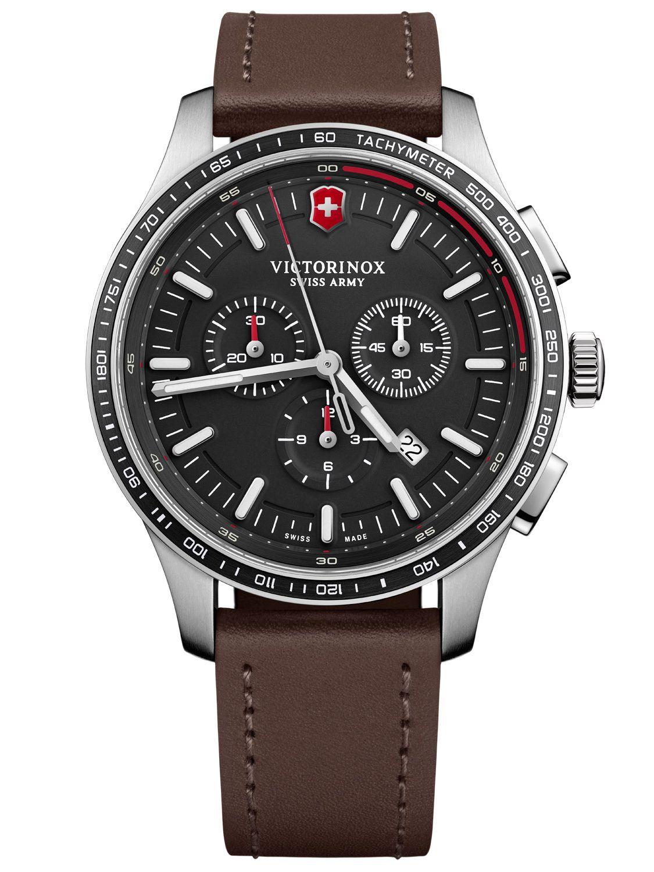 5ea68c334eb2b Victorinox 241826 Men's Watch Alliance Sport Chronograph Black Image ...