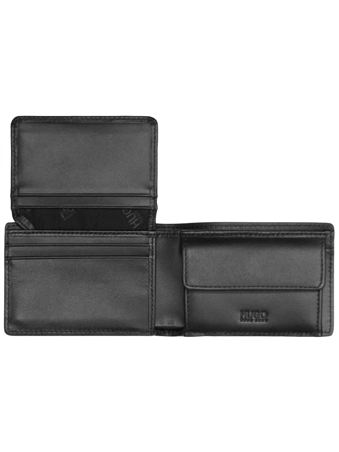 HUGO 50328622 Elements CC Mens Wallet Black • uhrcenter cb106a7dc8