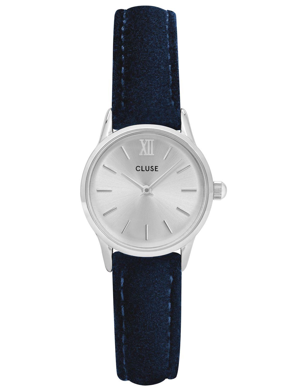 cd7942add Cluse CL50017 Ladies Watch La Vedette Silver/Blue Velvet Image 1 ...