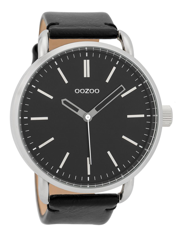 oozoo herren armbanduhr 48 mm schwarz c9634 uhrcenter. Black Bedroom Furniture Sets. Home Design Ideas