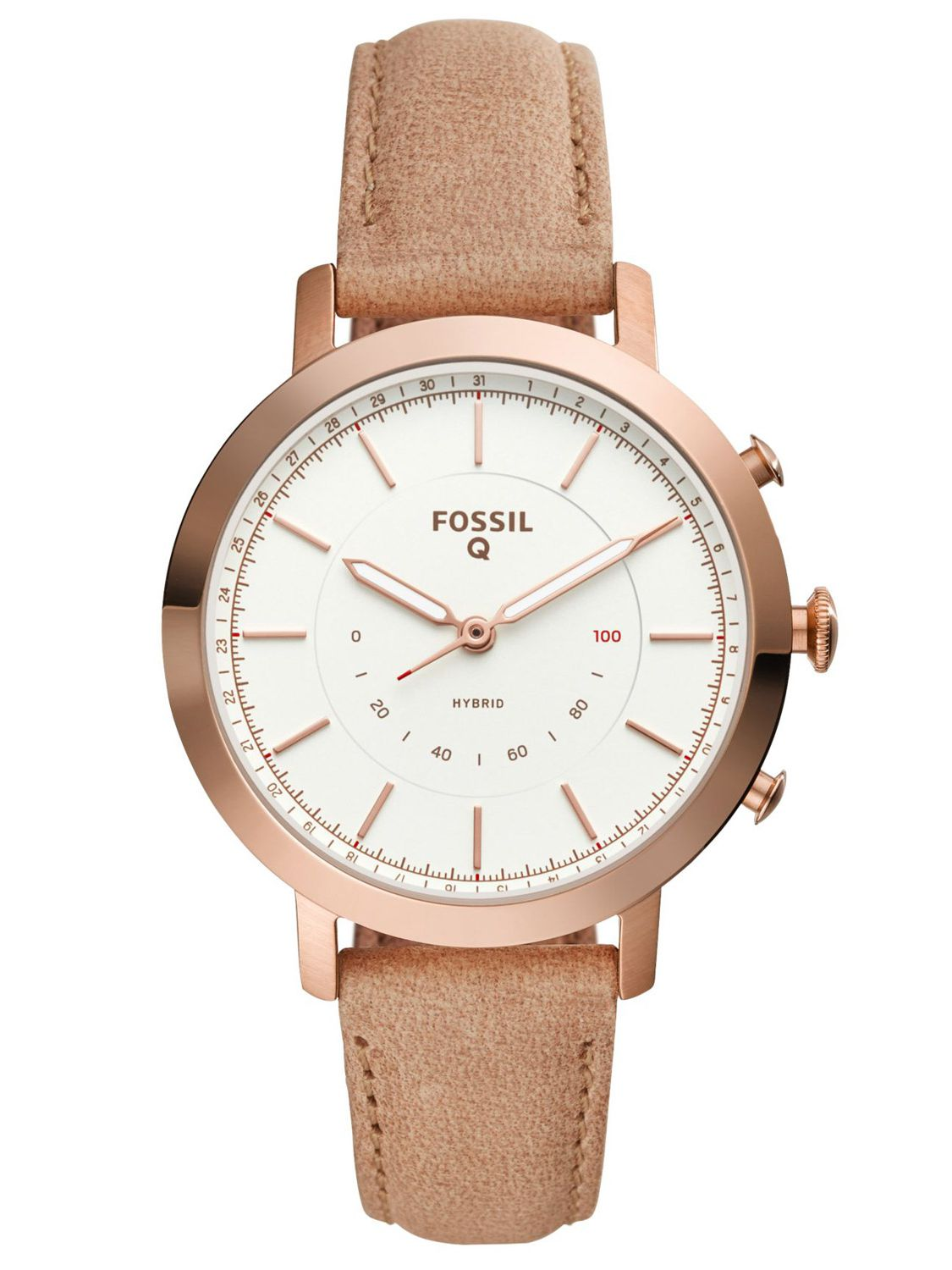 fossil q neely hybrid smartwatch f r damen ftw5007. Black Bedroom Furniture Sets. Home Design Ideas