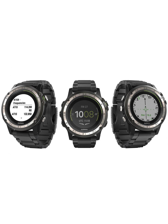 ba76c3d76e0 ... Garmin 010-01733-33 Pilots Watch D2 Charlie GPS Titanium Image 4 ...