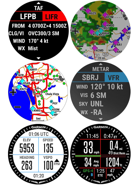 7ed53ca6413 ... Garmin 010-01733-33 Pilots Watch D2 Charlie GPS Titanium Image 5