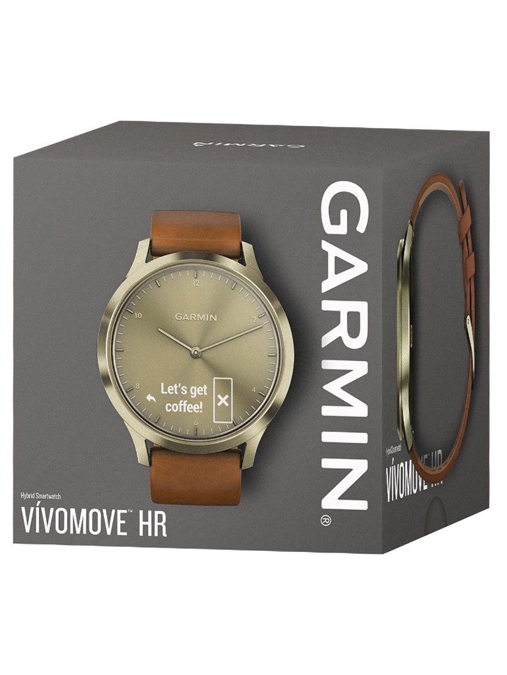 garmin vivomove hr premium ladies smartwatch s m light. Black Bedroom Furniture Sets. Home Design Ideas