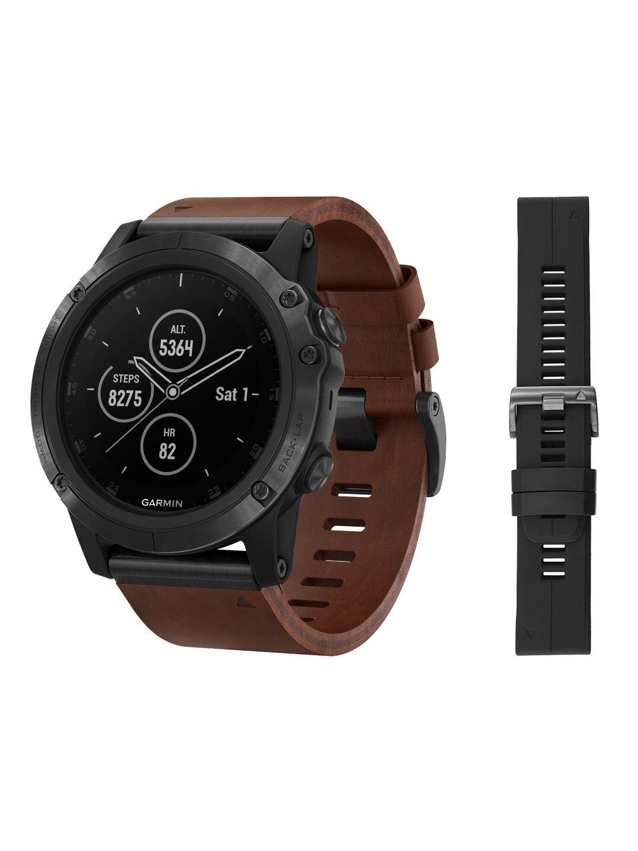 Garmin Fenix 5x Plus Sapphire Gps Multisport Smartwatch Black 010