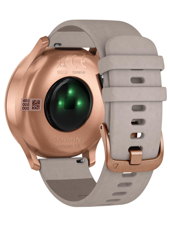 garmin vivomove hr premium damen smartwatch ros gold grau. Black Bedroom Furniture Sets. Home Design Ideas