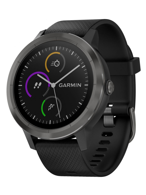 garmin vivoactive 3 gps multisport smartwatch schwarz. Black Bedroom Furniture Sets. Home Design Ideas