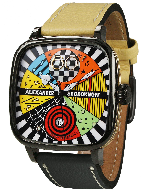 Kandy Avg02 2 Shorokhoff Automatik Armbanduhr Avantgarde As kd Alexander Yfgvb76y
