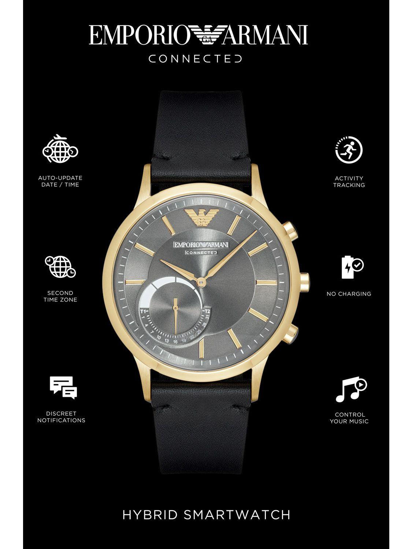 daf0c596e9752 ... Emporio Armani Connected ART3006 Hybrid Smart Watch Image 4 ...