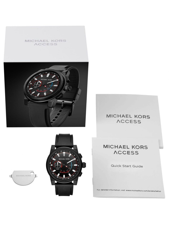 e988a86e0836 ... Michael Kors Access MKT4010 Mens Watch Hybrid Smartwatch Grayson Image 4