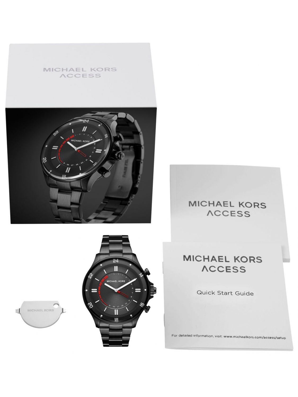 52270d739833 ... Michael Kors Access MKT4015 Hybrid Mens Smartwatch Reid Image 4