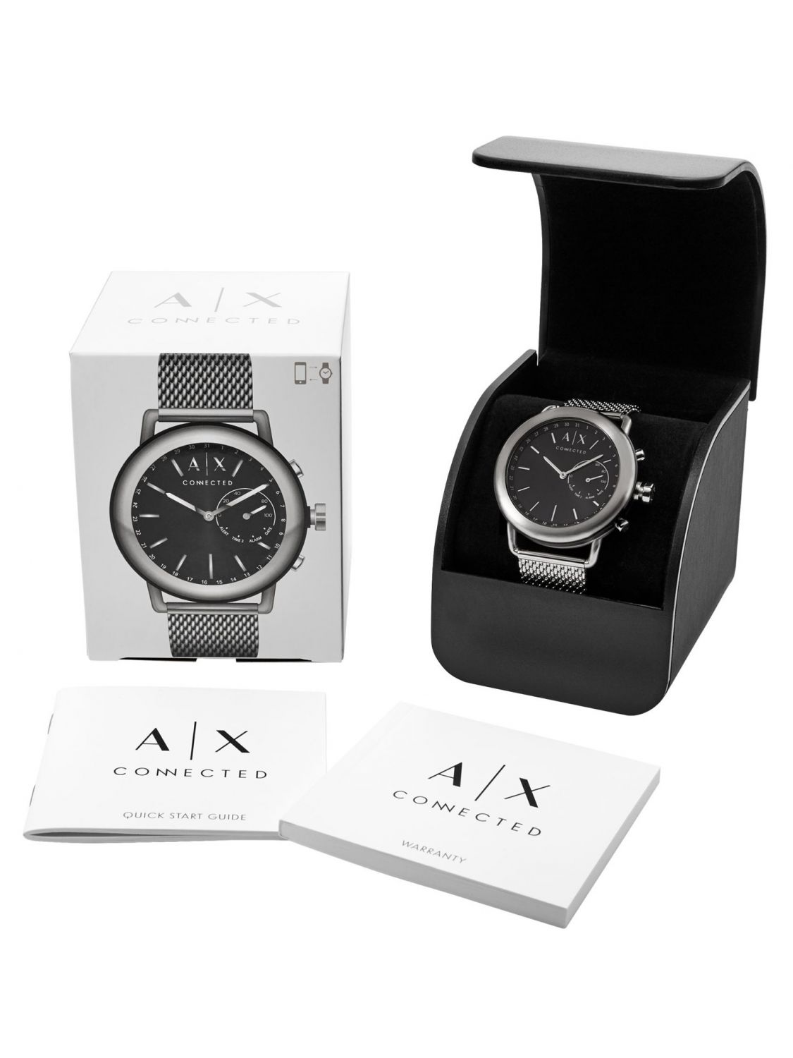 4e71aa73643 ... Armani Exchange Connected AXT1020 Hybrid Mens Smartwatch Image 4 ...
