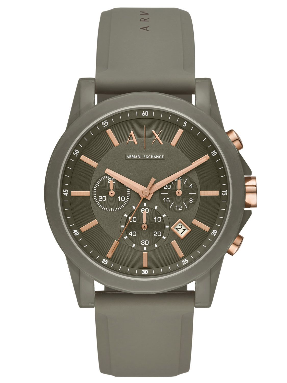 Outerbanks Exchange Herren Ax1341 Armbanduhr Chronograph Armani KTuclF1J3