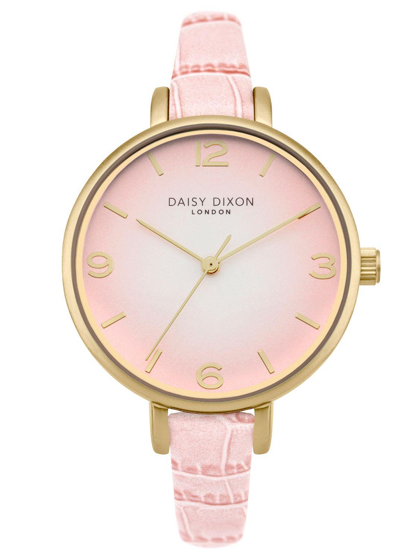daisy dixon damen armbanduhr millie rosa gold dd041p. Black Bedroom Furniture Sets. Home Design Ideas