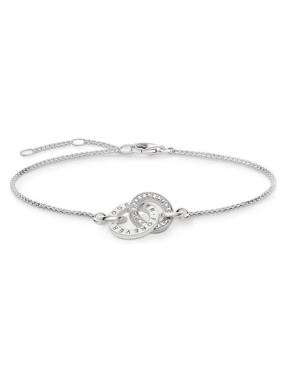 dc335a2c57edc THOMAS SABO Ladies Bracelet Together Forever A1551-051-14