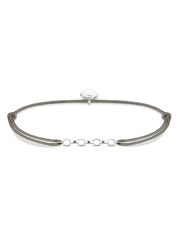 Thomas Sabo Charm bracelet Little Secret grey LS047-173-5-L20v Thomas Sabo 6B2dsA