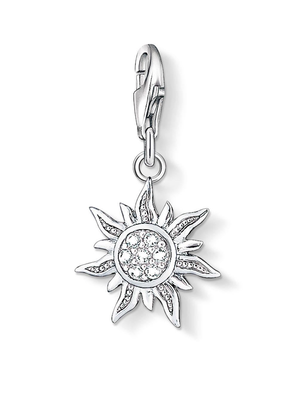 Thomas Sabo Charm pendant sun white 1040-051-14 Thomas Sabo qmgextG