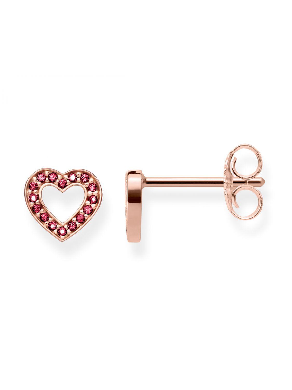 fb29ab539 THOMAS SABO Ladies Stud Earrings Hearts Small H1944-540-10