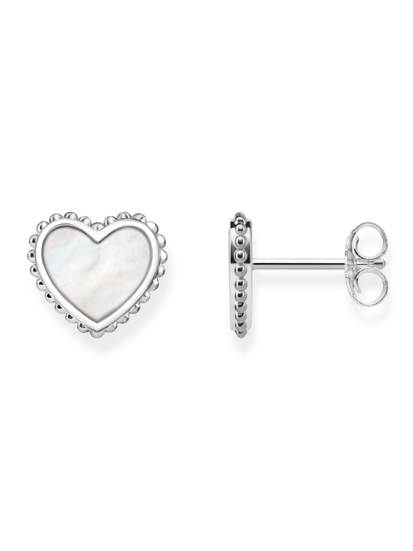18338396f THOMAS SABO Stud Earrings Heart H2004-029-14 • uhrcenter