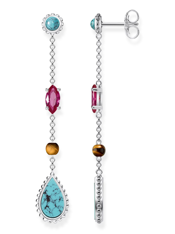Thomas Sabo earrings multicoloured H2007-481-7 Thomas Sabo pObSF