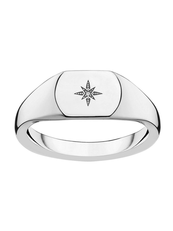43311e289af THOMAS SABO Ladies' Ring Vintage Star Silver D_TR0038-725-14