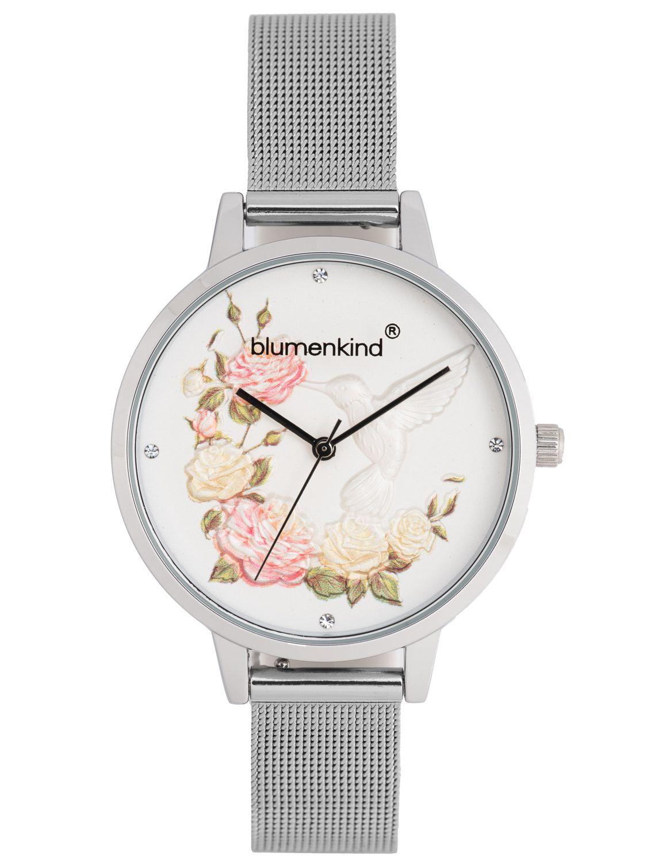 15081969swhss Woodstock Mesh Damenuhr Armband Blumenkind Mit 5jAq4R3cL
