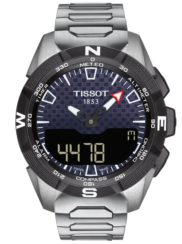 690ade617 Tissot T110.420.44.051.00 Men's Sports Watch T-Touch Expert Solar II Image  ...