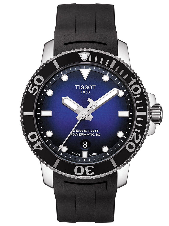 6c5c91614d Tissot T120.407.17.041.00 Automatik-Taucheruhr Seastar 1000 Automatic Bild  1 ...