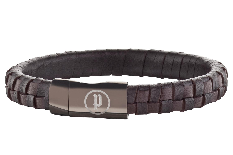 police herren armband connector pj25689blc 02 l uhrcenter. Black Bedroom Furniture Sets. Home Design Ideas