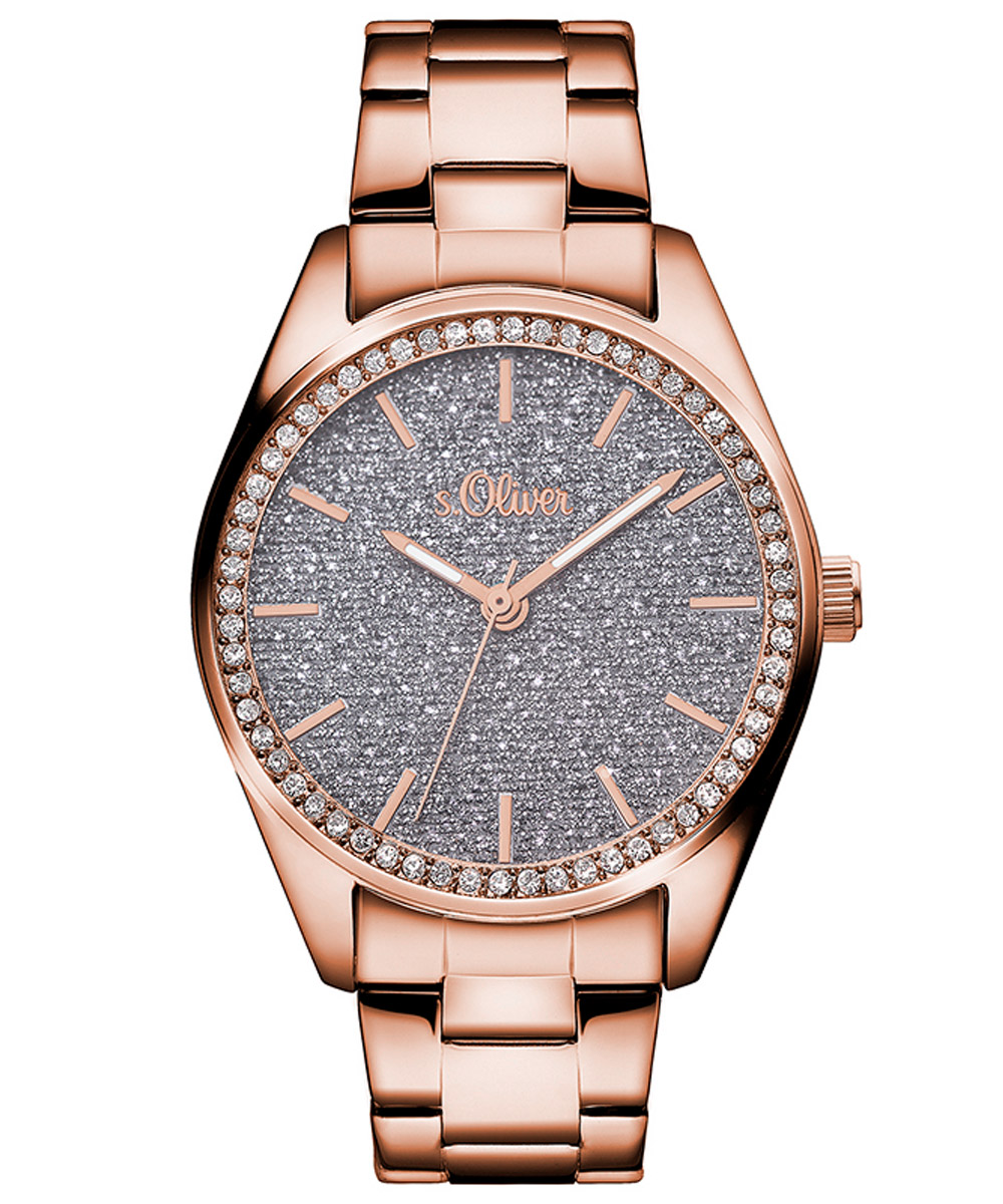 Womens Wrist Watches At Low Prices Page 38 Uhrcenter Fossil Es3707 Jacqueline Gray Leather Watch Rose Gold