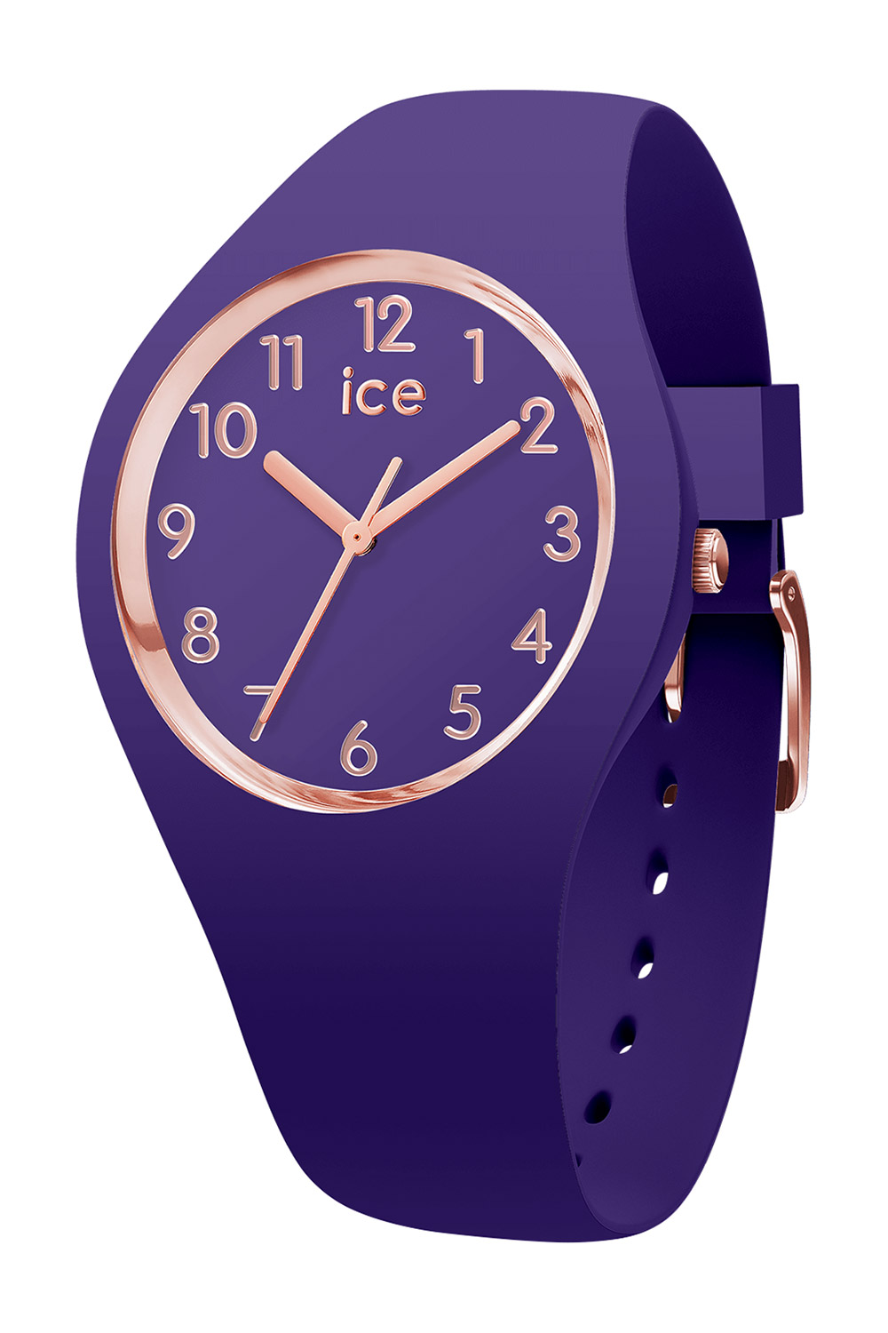 a077b110e83a2a Ice-Watch 015695 Ladies  Watch Ice Glam Colour Ultra Violet S