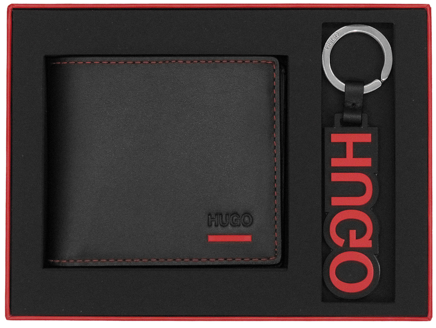HUGO 50403061 Gift Set Men s Wallet Black • uhrcenter 62636b0c23
