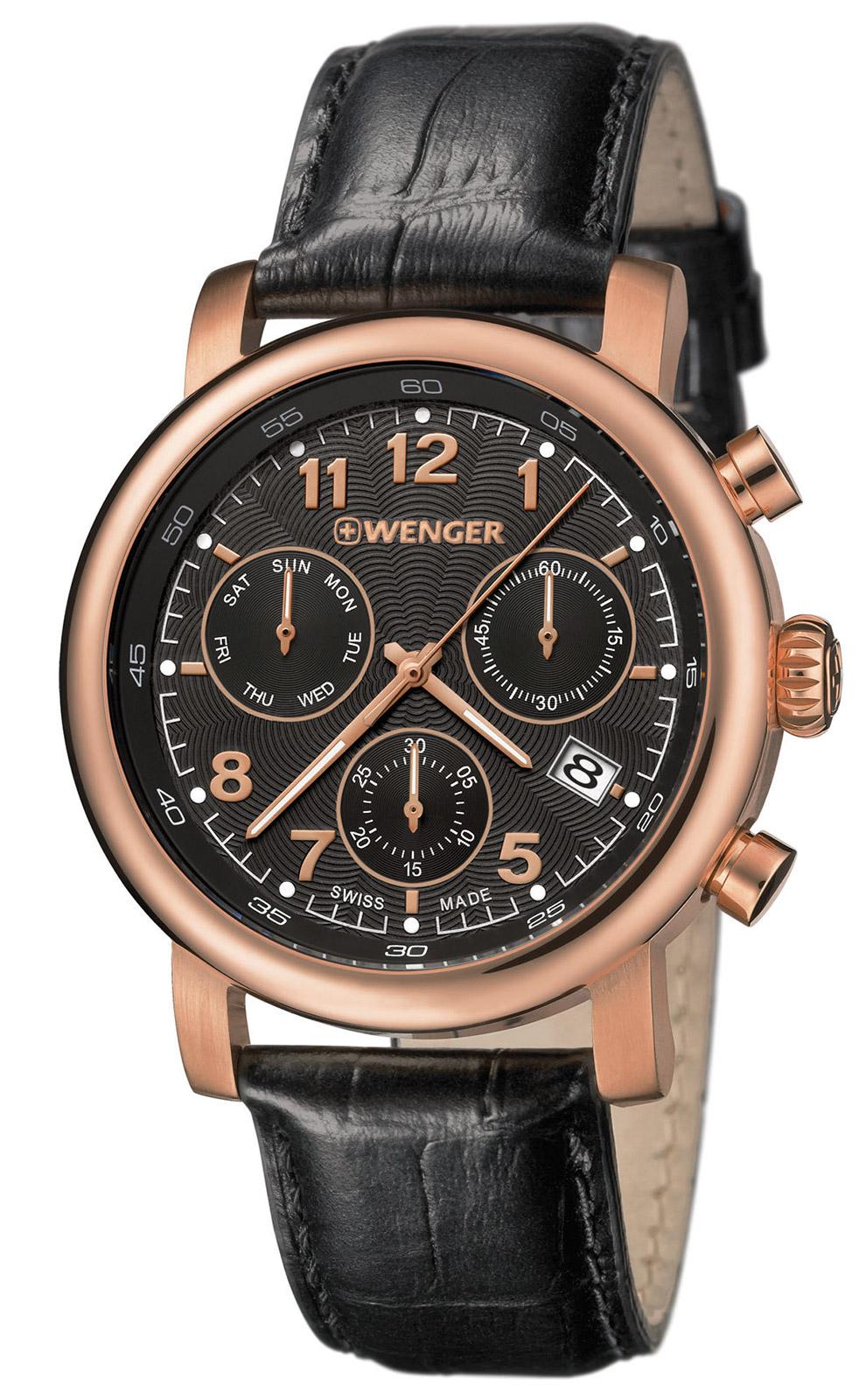 WENGER Urban Classic Chrono Mens Watch 01.1043.107 bfb96c7d791