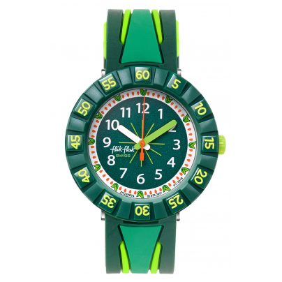 Flik Flak FCSP074 Kinderuhr All Green 7610522781825
