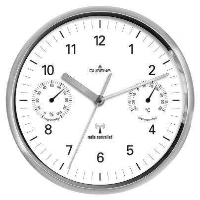 Dugena orologio da parete radiocontrollato 4277392 ebay for Orologio da parete radiocontrollato