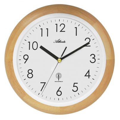 Atlanta orologio da parete radiocontrollato 4323 30 ebay for Orologio da parete radiocontrollato